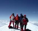 6.Na vrhu Mon Blana, Milan, Bojan, Vanja, Dragan